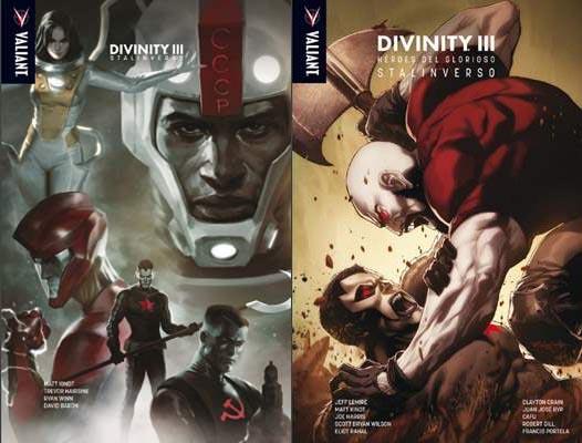 Divinity III: Stalinverso / Divinity III: Héroes del glorioso Stalinverso