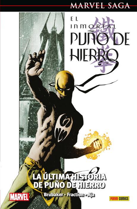 Marvel Saga. El Inmortal Puño de Hierro 1 portada