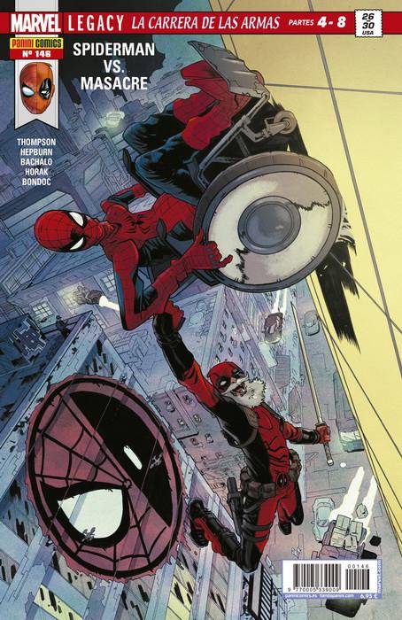Spiderman vs. Masacre: La carrera de las armas 4-8