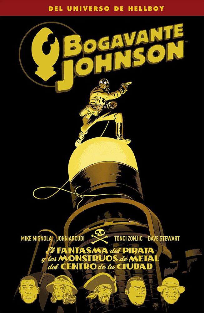 Bogavante Johnson: El fantasma del pirata y los monstruos de metal del centro de la ciudad