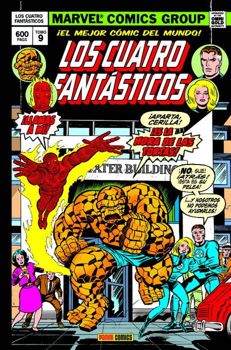 Los Cuatro Fantásticos 9: Cuando los titanes chocan