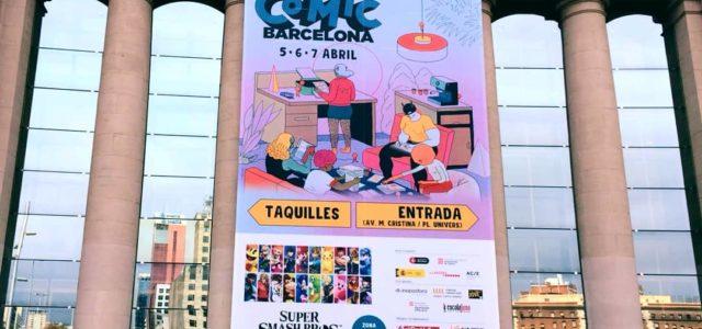 Todo listo para el 37º Comic Barcelona