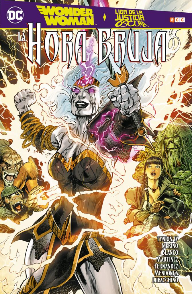 Wonder Woman Liga de la Justicia Oscura La hora bruja