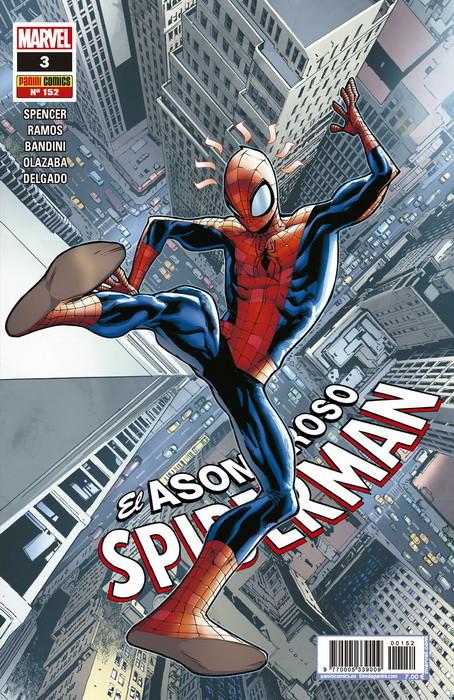 spiderman 152 el golpe