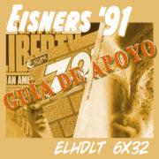 Podcast de ELHDLT: Guía de apoyo del podcast Premios Eisner 1991.