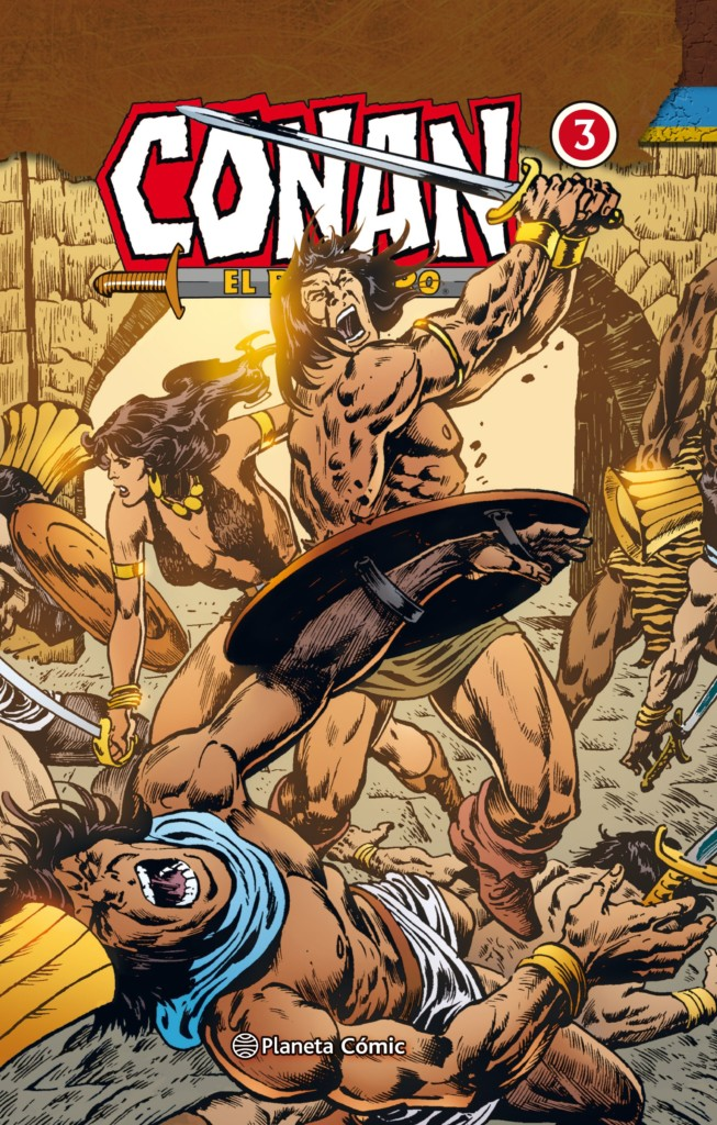 Conan el bárbaro – Integral nº3