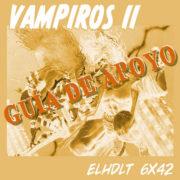 Podcast de ELHDLT: Guía de apoyo del podcast Vampiros II.