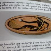 Takoyaki de tebeos: Mies y el arte del Kintsugi.