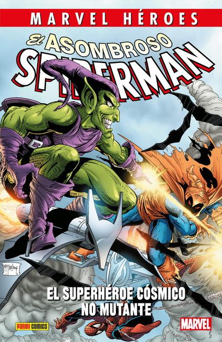 asombroso spiderman superheroe cosmico