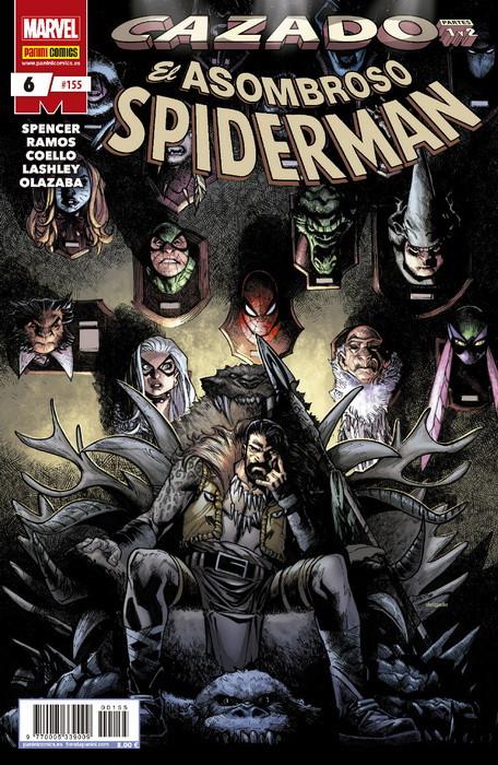 spiderman 6 cazado