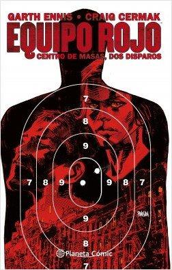Equipo rojo 2. Centro de masas, dos disparos