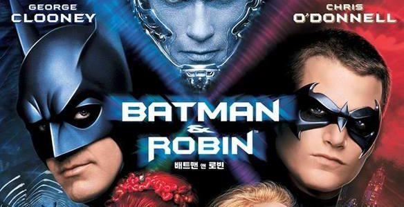 ¡Viñetas y … acción! 30 Batman and Robin de Joel Schumacher