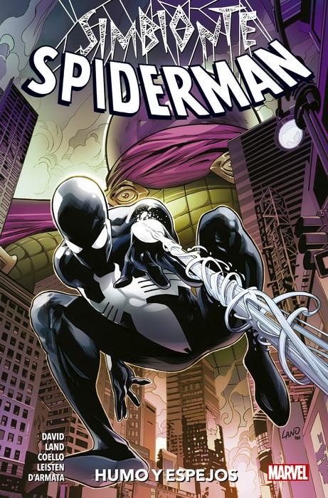 spiderman simbionte humo y espejos