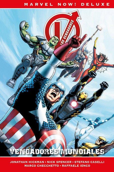 Marvel Now! Deluxe. Los Vengadores de Jonathan Hickman 6: Vengadores Mundiales