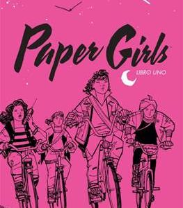 Paper Girls integral 1, de Vaughan y Chiang