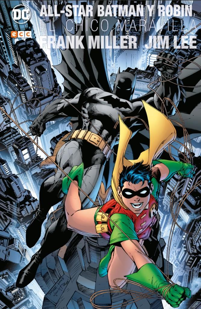 all star Batman y robin deluxe