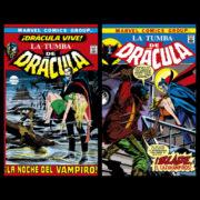 Biblioteca Drácula. La Tumba de Drácula 1 y 2