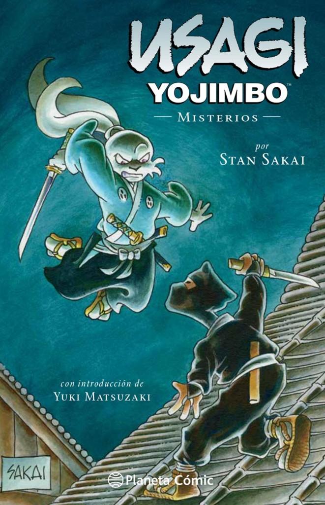 Misterios usagi yojimbo