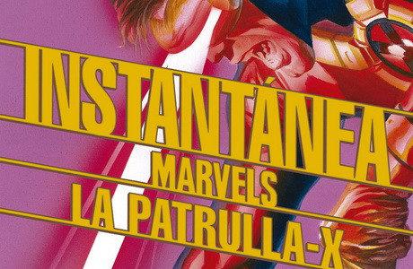 Instantánea Marvels 3-4: Capitán América / La Patrulla-X