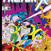 Marvel Gold Factor-X 1: ¡Bautismo de fuego!