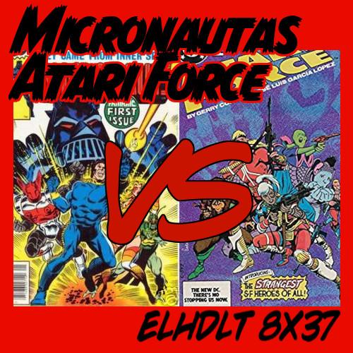 Micronautas vs Atari Force