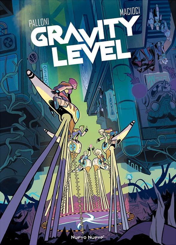 gravity level portada