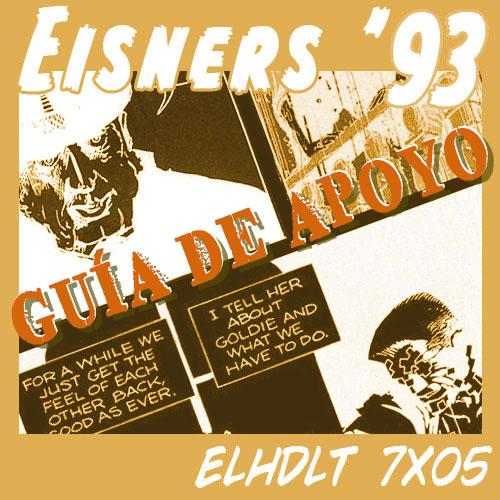 Podcast de ELHDLT: Guía de apoyo del podcast Premios Eisner 1993.