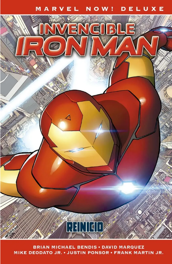 Marvel Now Deluxe Invencible Iron Man 1