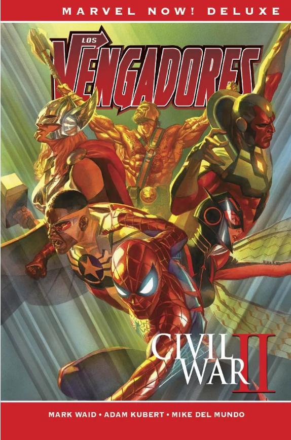 Marvel Now Deluxe Los Vengadores de Mark Waid 2