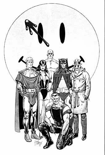 Watchmen: Dramatis Personae (o vigilantes por casualidad)