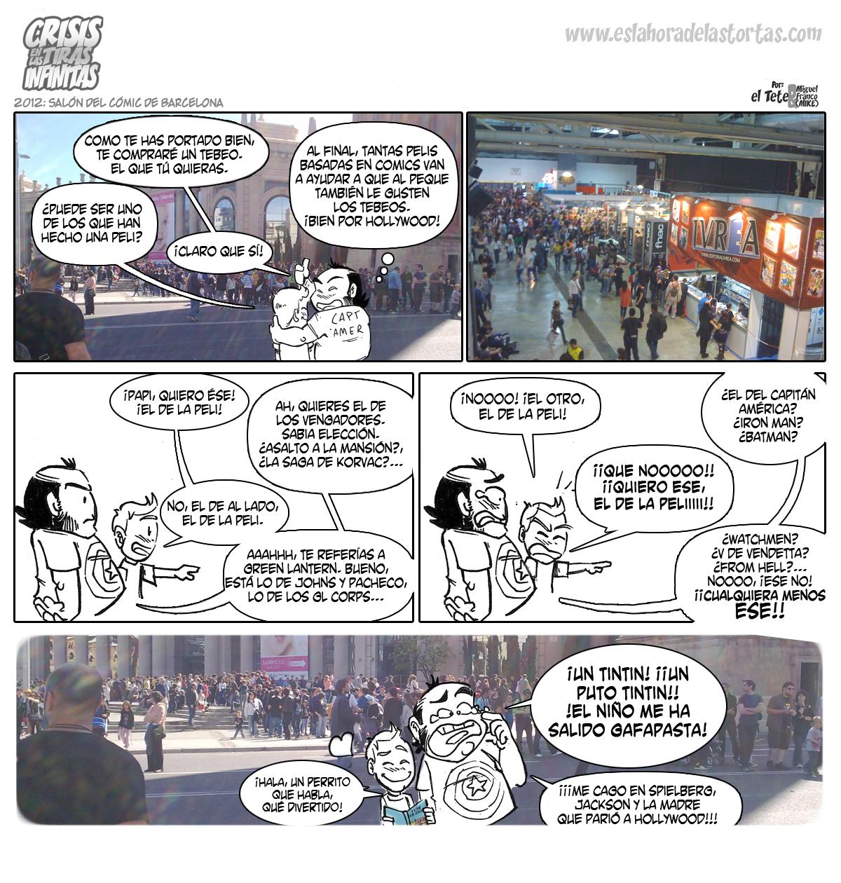 Crisis en Tiras Infinitas: Saló del Cómic 2012