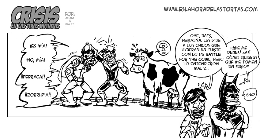 Crisis en las Tiras Infinitas: ¡¡Battle for the COWl!!