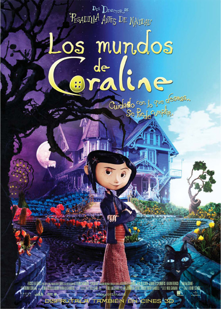 Reseña de cine – Los Mundos de Coraline (3D)